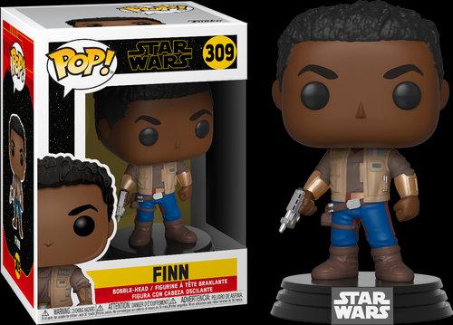 Pop! Star Wars The Rise of Skywalker Vinyl Bobble-Head Finn #309