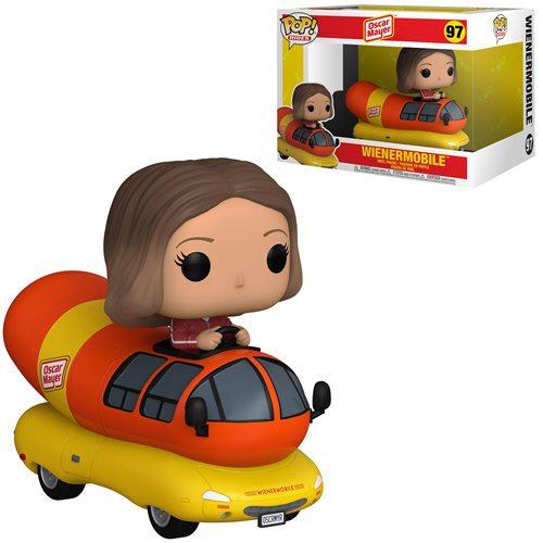 Pop! Rides Icons Oscar Mayer Vinyl Figure Wienermobile #97