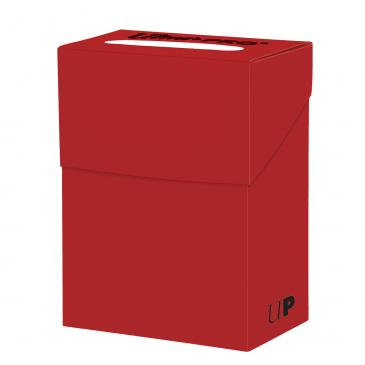 Red Deck Box For Collectible Cards