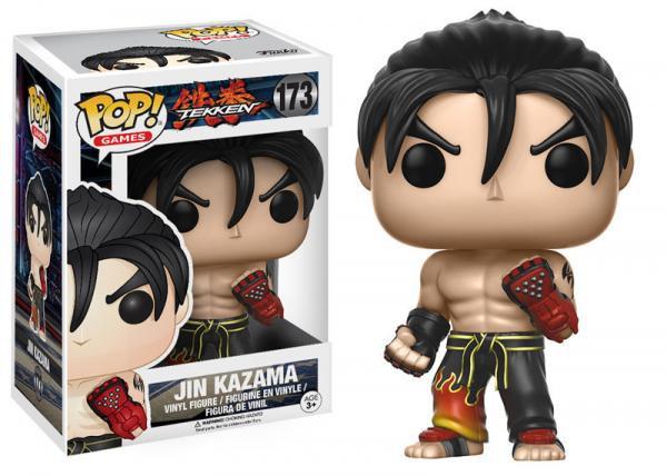 Pop! Games Tekken Vinyl Figure Jin Kazama #173 (Vaulted)