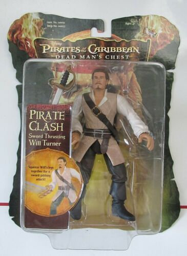 Disney Pirates of the Caribbean Dead Man's Chest WILL TURNER figure 2006