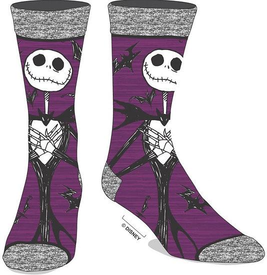 Nightmare Before Christmas Jack Skellington Crew Socks 1 Pair