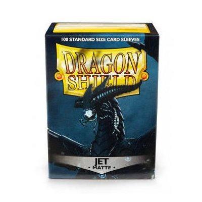 Dragon Shields: Matte Card Sleeves (100): Jet