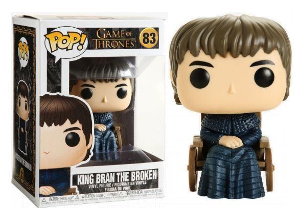 Pop! Television Game of Thrones Vinyl Figure King Bran The Broken #83