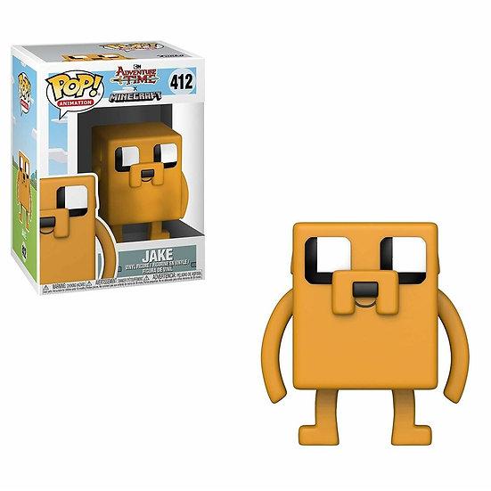 Funko Pop Television Adventure Time Minecraft Jake #412