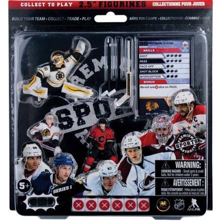 """NHL Starter Pack #3 (Tuukka Rask, Patrick Kane & Mark Giordano) 2.5"""" Figures"""