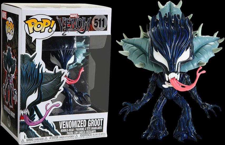 Pop! Marvel Venom Vinyl Bobble-Head Venomized Groot #511
