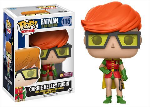 Pop! Heroes The Dark Knight Returns Carrie Kelley Robin #115 PX Exclusive
