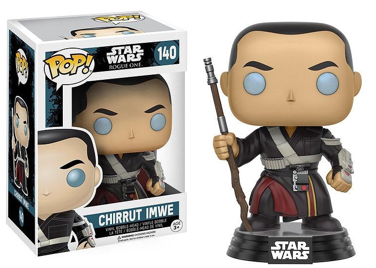 Pop! Star Wars Rogue One Vinyl Bobble-Head Figure Chirrut Imwe #140