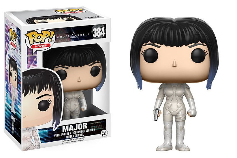 Pop! Movies Ghost in the Shell Vinyl Figure Major #384