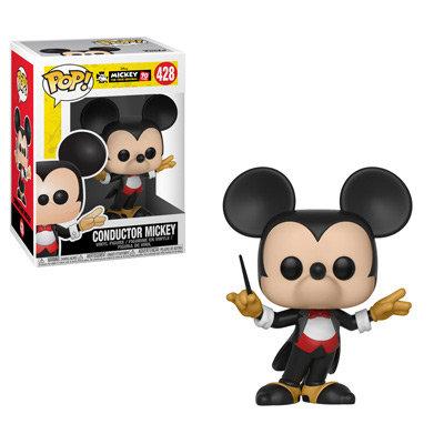 Pop! Disney Mickey 90th Anniversary Vinyl Figure Conductor Mickey #428