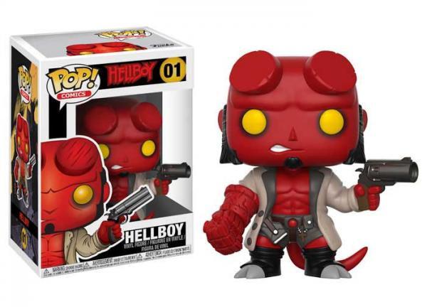 Pop! Comics Hellboy Vinyl Figure Hellboy #01