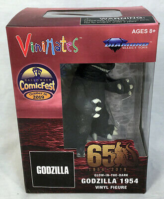 Diamond Select Vinimates Godzilla Glow In The DarkFigure