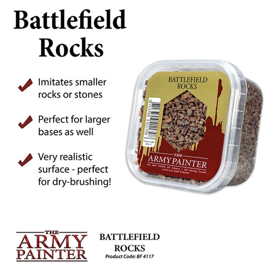 Army Painter: Battlefield: Battlefield Rocks
