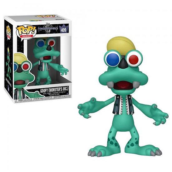 Pop! Games Kingdom Hearts 3 Vinyl Figure Goofy (Monster's Inc.) #409