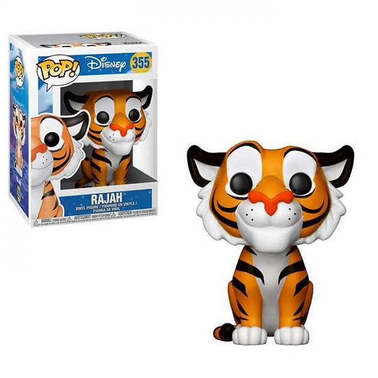 Pop! Disney Aladdin Vinyl Figure Rajah #355 (Vaulted)