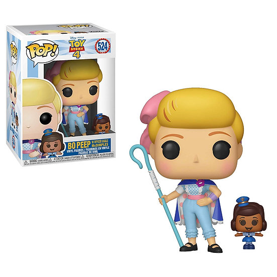 Pop! Disney Toy Story 4 Vinyl Figure Bo Peep with Officer Giggle McDimples #524