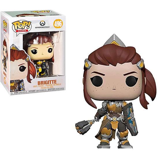 Pop! Games Overwatch Vinyl Figure Brigitte #496
