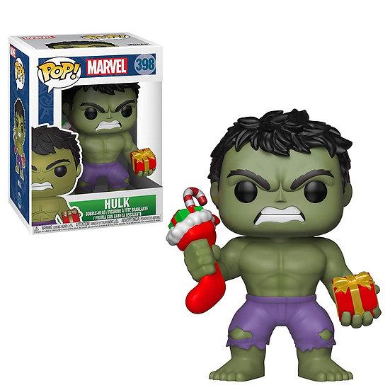 Pop! Marvel Holiday Vinyl Bobble-Head Hulk #398