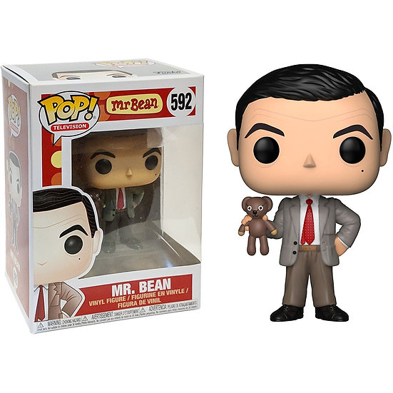 Pop! Television Mr. Bean Vinyl Figure Mr. Bean #592