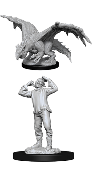 Dungeons & Dragons Nolzur's Marvelous Miniatures: GREEN DRAGON WYRMLING