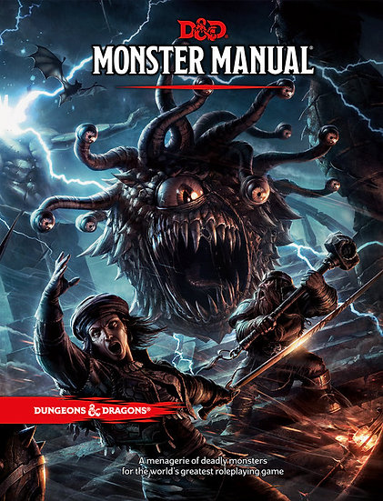 Dungeons & Dragons Monster Manual Hardcover Book
