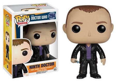 Pop! Television Doctor Who Vinyl Figure Ninth Doctor #294