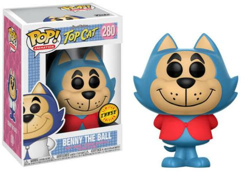 Funko POP! Vinyl Figure Hanna-Barbera Top Cat BENNY THE BALL #280 Chase