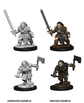 Pathfinder Deep Cuts: Female Dwarf Barbarian