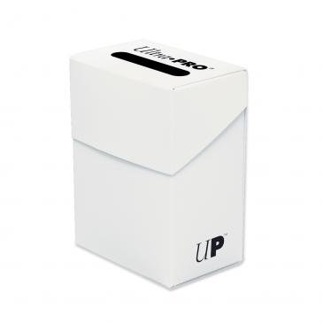 Ultra Pro White Deck Box For Collectible Cards