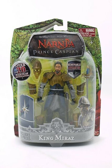 Disney Chronicles Of Narnia KING MIRAZ Action Figure 6""
