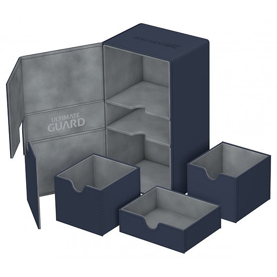 Ultimate Guard Blue Twin Flip'n'Tray™ 200+ XenoSkin™