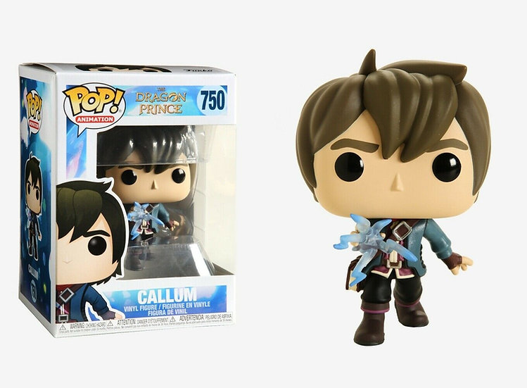 Funko Pop! Animation: Dragon Prince - Callum Vinyl Figure #750