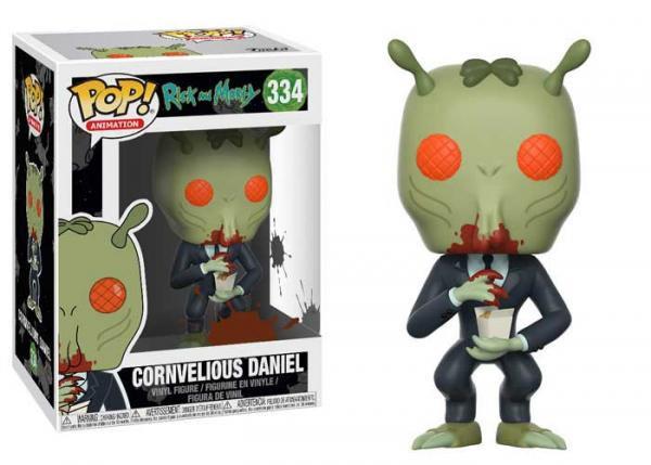 Pop! Animation Rick and Morty Vinyl Figure Cornvelious Daniel #334