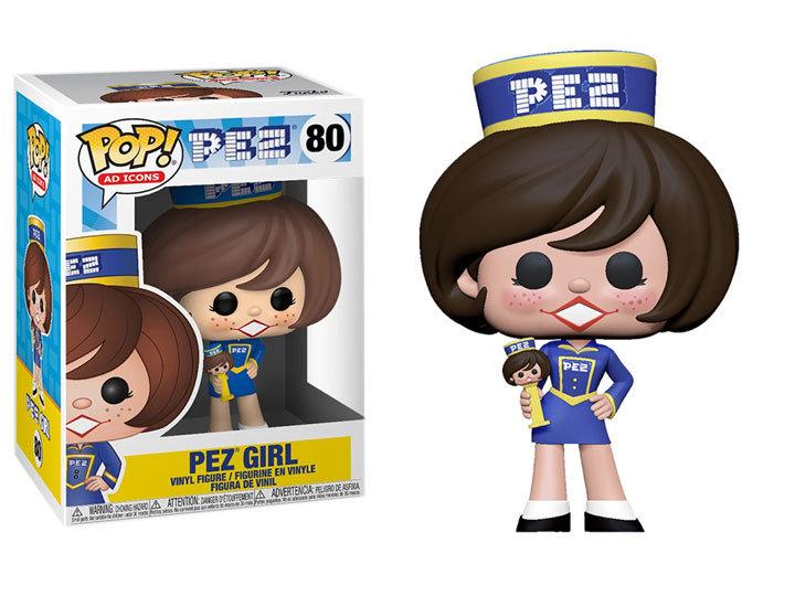 Pop! Ad Icons Pez Vinyl Figure Pez Girl #80