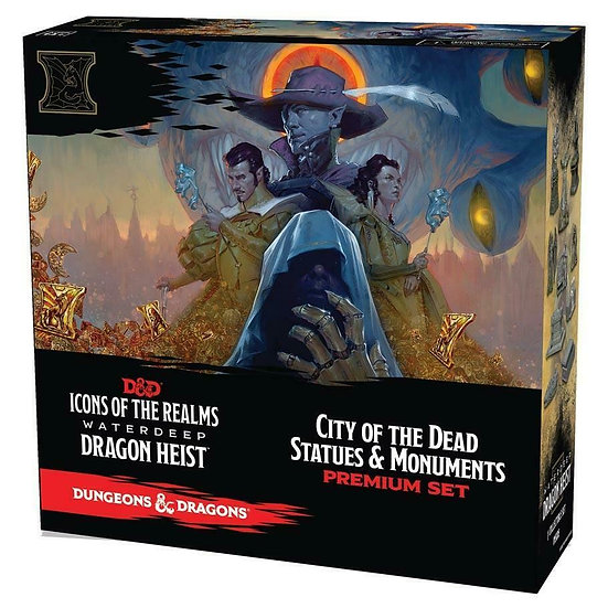 Dungeons & Dragons Icons Of The Realms 9: Waterdeep Dragon Heist City Dead Set