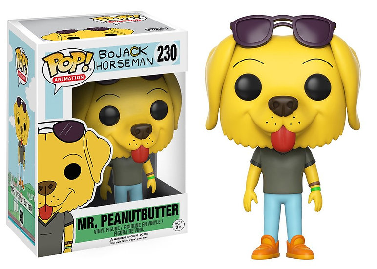 Funko Pop Mr. Peanutbutter 230 (Vaulted)