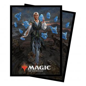 Commander 2018 Estrid, the Masked Standard Deck Protector sleeve 100ct for Magic
