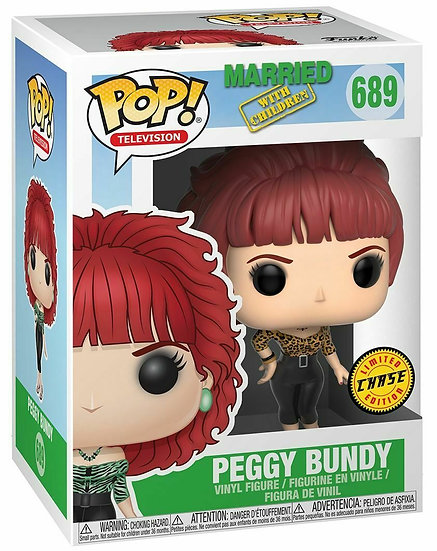 Pop! Television Married with Children Vinyl Figure Peggy Bundy #689 Chase