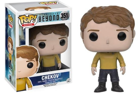 Pop! Movies Star Trek Beyond Vinyl Figure Chekov #351 (Vaulted)