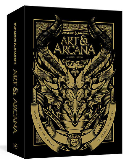 Dungeons & Dragons Art & Arcana [Special Edition, Boxed Book & Ephemera Set]