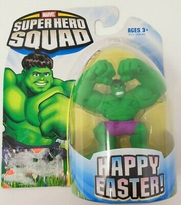 Marvel Super Hero Squad Easter package the Hulk figure