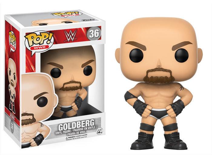 Pop! WWE Vinyl Figure Goldberg (Old School) #36 (Vaulted)