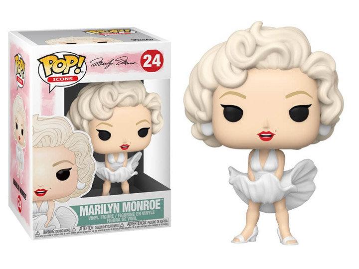 Pop! Icons Marilyn Monroe Vinyl Figure Marilyn Monroe #24