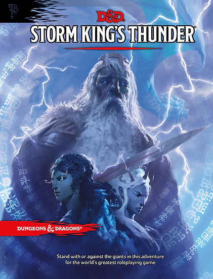D&D Storm King's Thunder Book