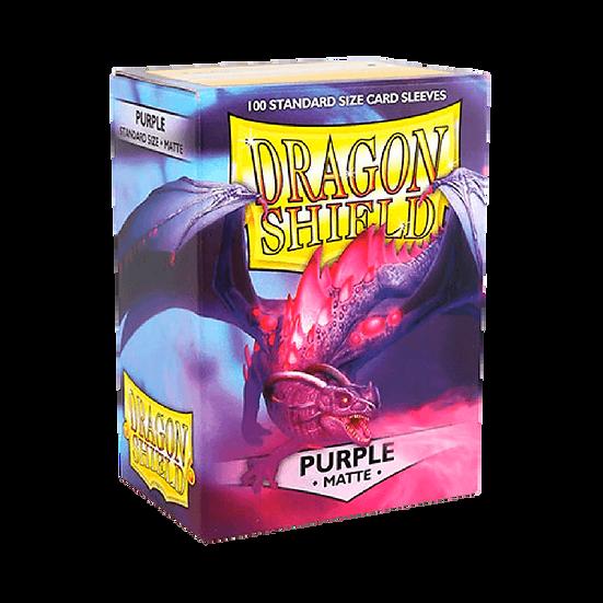 Dragon Shields: Matte Card Sleeves (100): Purple