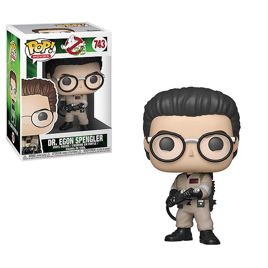 Pop! Movies Ghostbusters Vinyl Figure Dr. Egon Spengler #743