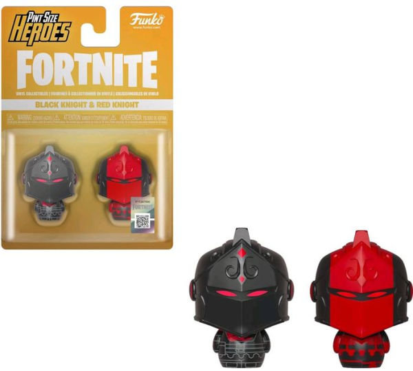 Pint Size Heroes: Fortnite S1a - Black Knight & Red Knight