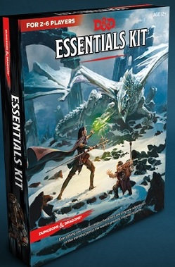 Wizards Of The Coast Dungeons & Dragons: Essentials Kit