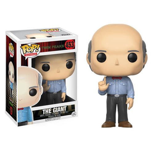 Pop! Television Twin Peaks Vinyl Figure The Giant #453 (Vaulted)